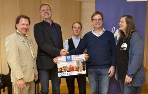Spendenübergabe Deutsch-Polnisches Jugendorchester